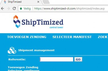 Secure shipping with ShipTimized control tower